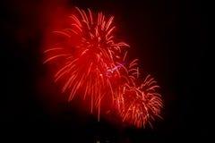 Vuurwerk NYC Royalty-vrije Stock Afbeeldingen