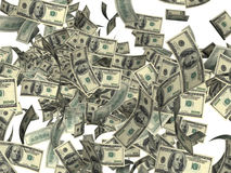 Vuurwerk van dollars Royalty-vrije Stock Afbeelding