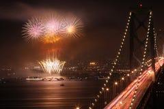 vuurwerk vertoning Stock Afbeeldingen