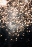 Vuurwerkclose-up Stock Afbeeldingen