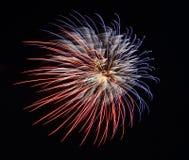 Vuurwerkcracker Royalty-vrije Stock Afbeeldingen