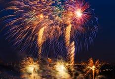 Vuurwerkfestival Royalty-vrije Stock Foto