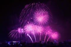 Vuurwerkvertoning Royalty-vrije Stock Afbeeldingen