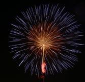 Vuurwerkvertoning Stock Afbeeldingen
