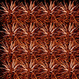 Vuurwerkviering op donkere achtergrond Stock Afbeelding