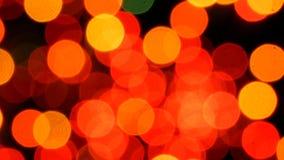 Vuurwerkvlieg in de hemel Sluit omhoog stock videobeelden