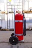 Vuurzeebrandblusapparaat Stock Foto