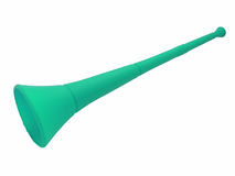vuvuzela κέρατων Στοκ Εικόνα