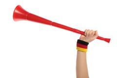 Vuvuzela Fotografía de archivo libre de regalías