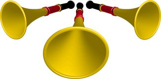 vuvuzela 库存照片