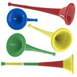 vuvuzela Arkivbilder