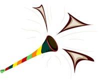 Vuvuzela for africa Royalty Free Stock Photography