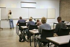 vuxen calculusutbildning Fotografering för Bildbyråer