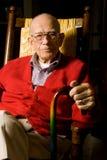 vuxen male pensionär Fotografering för Bildbyråer