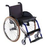 vuxen rullstol Fotografering för Bildbyråer