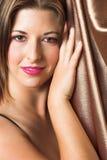 vuxen sexig kvinna Fotografering för Bildbyråer