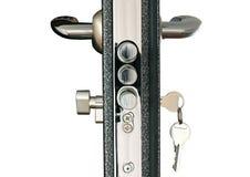 vuxet lås för håll för barndörrhandtag till Royaltyfri Fotografi