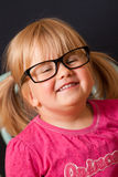 vuxna unga flickaexponeringsglas Royaltyfria Foton