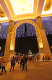 VVC entrance by New Year, Moscow Royalty Free Stock Image