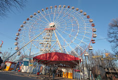 VVC exhibition fairy wheel, Moscow Royalty Free Stock Photography