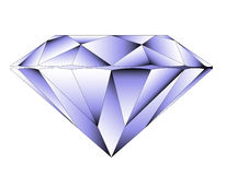 VVector round brilliant cut diamond Stock Photo