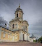 Vvedensky bisschoppelijk vrouwelijk Klooster in Serpukhov stock foto's