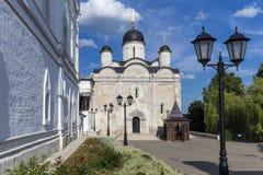 Vvedensky female monastery Episcopal Serpukhov Royalty Free Stock Photography