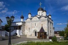 Vvedensky female monastery Episcopal Serpukhov Royalty Free Stock Photo