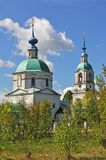 Vvedensky temple in Florischi village, Russia Royalty Free Stock Photos
