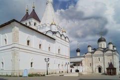 Vvedensky vrouwelijk klooster, Serpukhov, Rusland Royalty-vrije Stock Fotografie