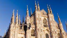 Vview della cattedrale di Milano a synset Immagine Stock Libera da Diritti