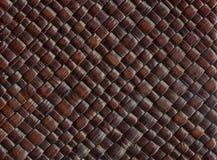 vävt läder Arkivfoton