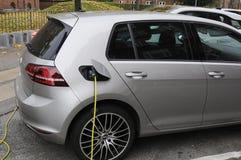 VW电动车 库存图片