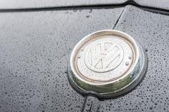VW车徽章 库存照片