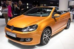 VW高尔夫球Cabrio 免版税图库摄影
