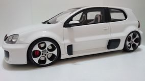 Vw高尔夫球GTI W12 650马力原型 图库摄影