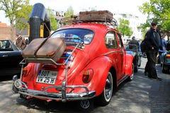 VW ścigi oldtimer samochód w Kettwig, okręg Essen zdjęcie royalty free