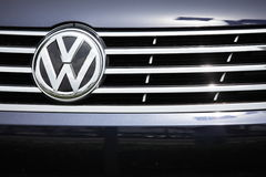 VW σχαρών εμβλημάτων του 2012 Στοκ Φωτογραφίες