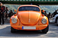 VW 20的8月18日,甲虫汽车 库存照片