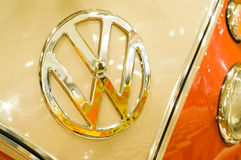 VW badge Photos stock
