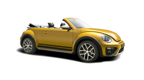 VW Beeatle Dune cabriolet Royalty Free Stock Photo