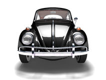 VW Beetle 10. Front of VW Beetle on white background Stock Photo