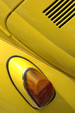 Vw beetle. Old vw beetle rear light detail Royalty Free Stock Images