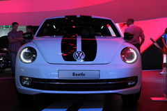 VW Beetle on 64rd IAA Stock Image