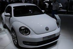 VW Beetle on 64rd IAA. FRANKFURT - SEP 20: VW Beetle on 64rd IAA (Internationale Automobil Ausstellung) on September 20, 2011 in Frankfurt, Germany Stock Photography