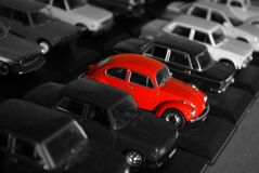 VW Beetle stock photos