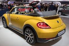 VW Beetle Cabrio Stock Image