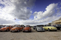 VW Beetle cars Stock Images