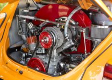 VW Beetle engine Stock Images