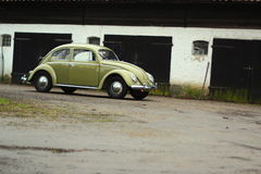 Vw beetle 1957. Retro Vw beetle 1957 r royalty free stock images